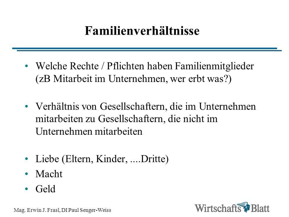 Familienverhältnisse