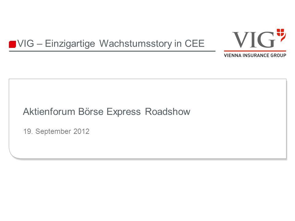 Aktienforum Börse Express Roadshow