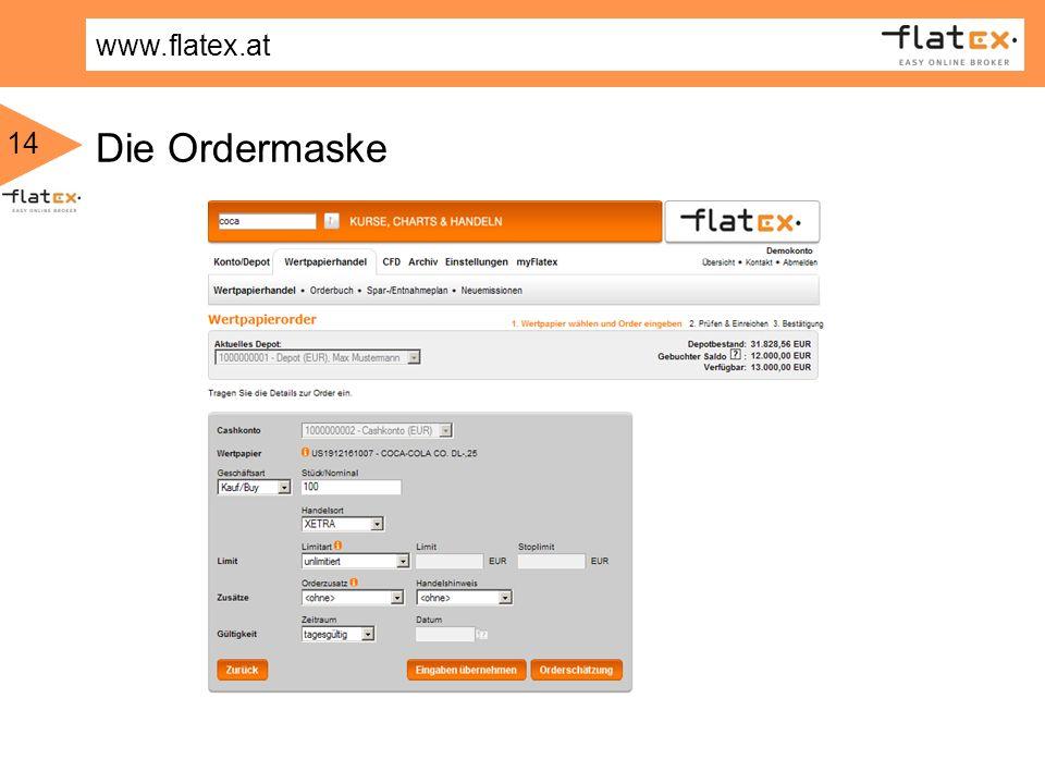 Die Ordermaske