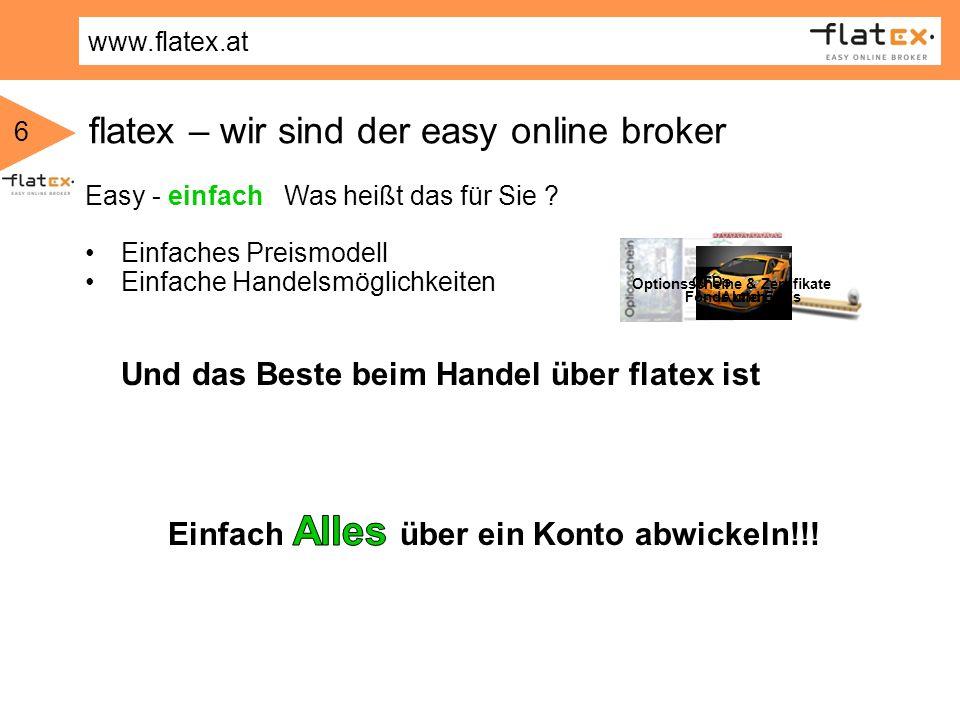 flatex – wir sind der easy online broker