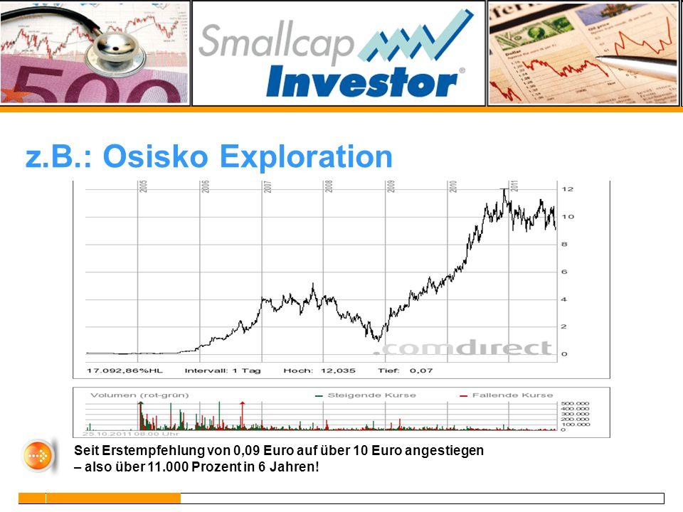z.B.: Osisko Exploration
