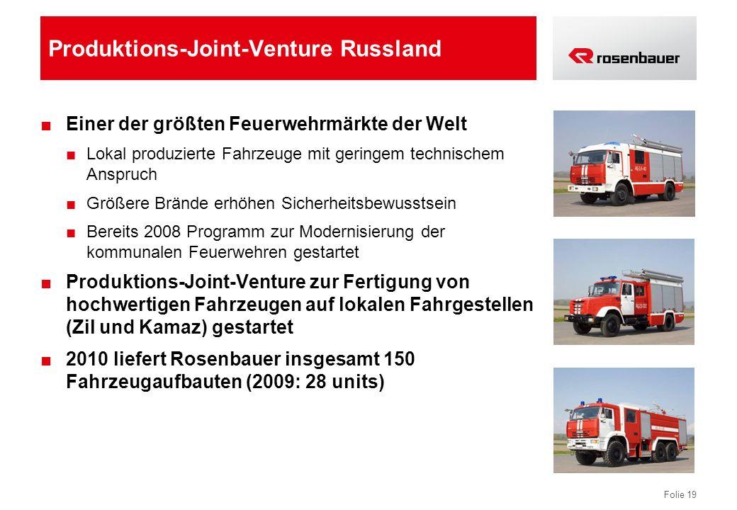 Produktions-Joint-Venture Russland