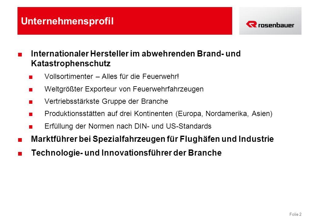 Unternehmensprofil Internationaler Hersteller im abwehrenden Brand- und Katastrophenschutz. Vollsortimenter – Alles für die Feuerwehr!