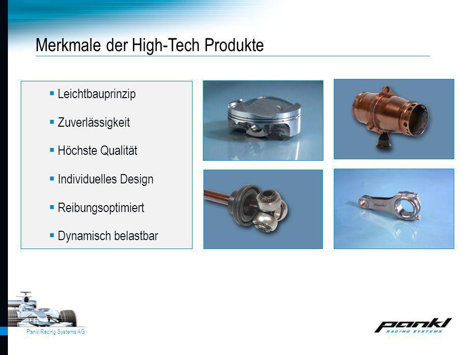 Merkmale der High-Tech Produkte