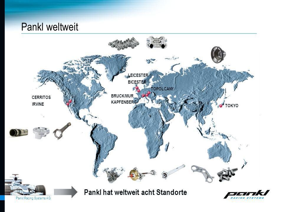 Pankl weltweit Pankl hat weltweit acht Standorte LEICESTER BICESTER