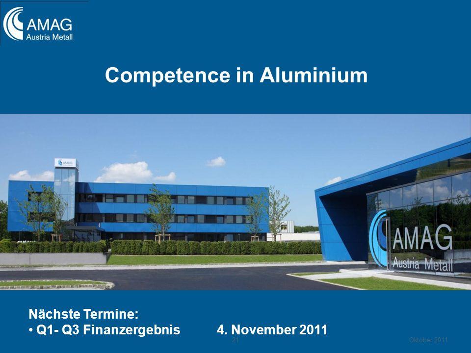 Competence in Aluminium