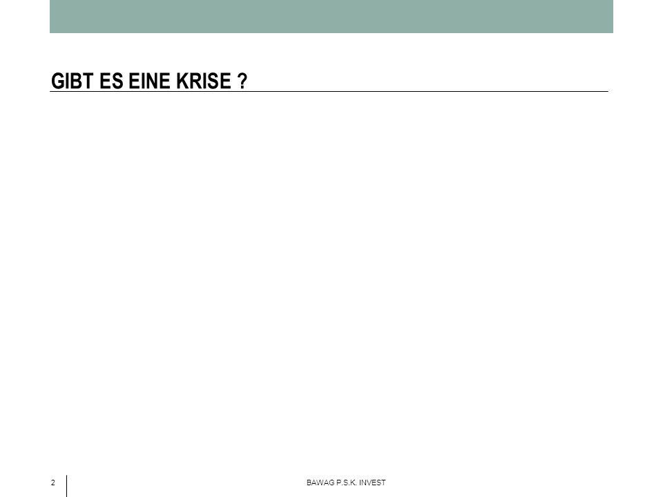 GIBT ES EINE KRISE 2 BAWAG P.S.K. INVEST