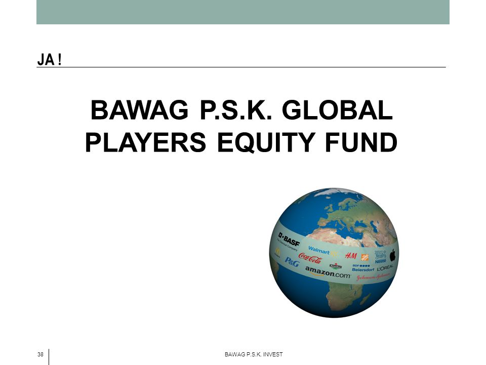 BAWAG P.S.K. GLOBAL PLAYERS EQUITY FUND