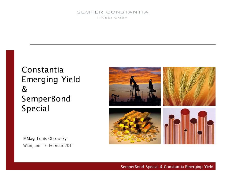 Constantia Emerging Yield & SemperBond Special