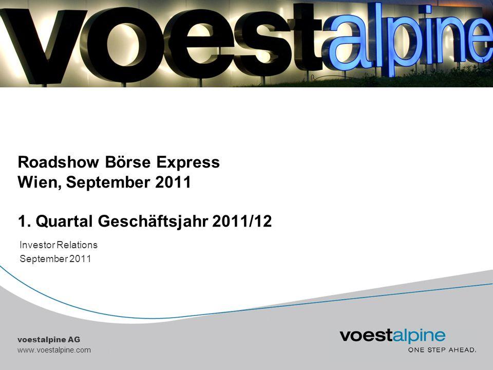 Investor Relations September 2011
