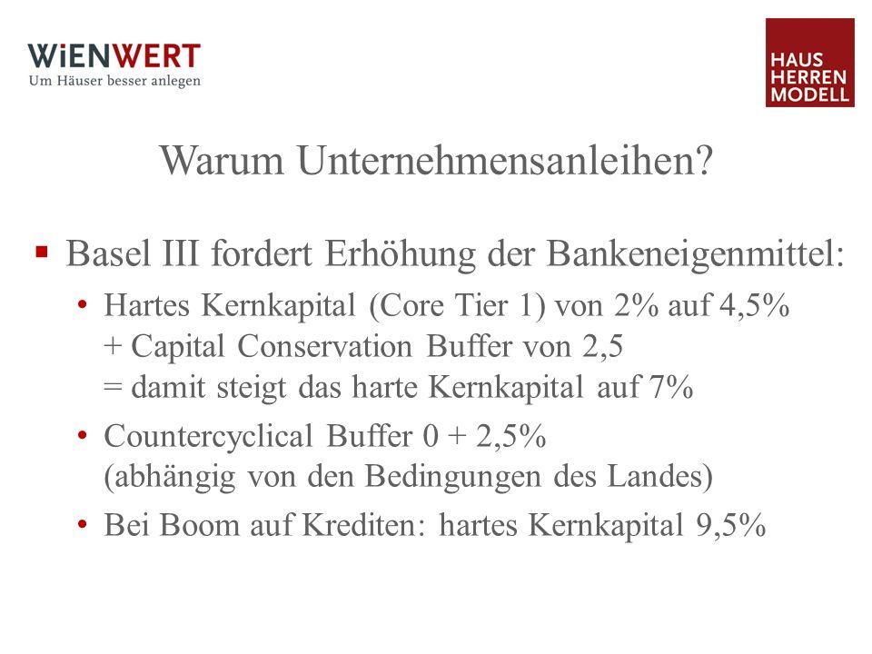 Warum Unternehmensanleihen