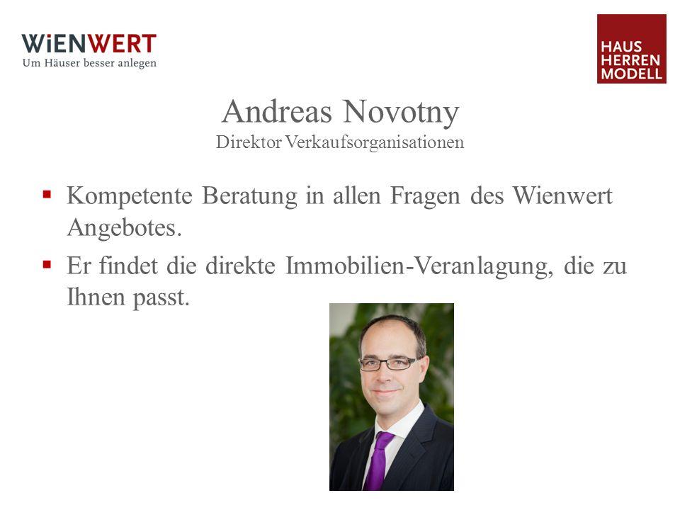 Andreas Novotny Direktor Verkaufsorganisationen