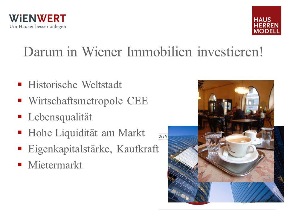 Darum in Wiener Immobilien investieren!