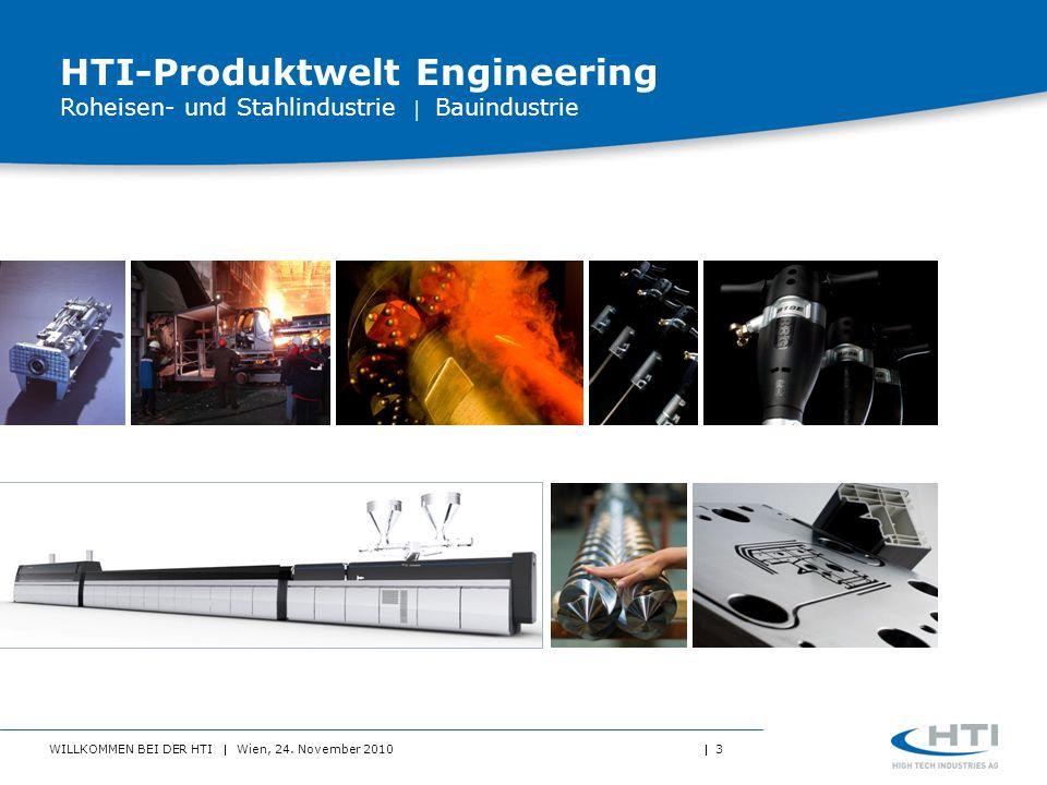 HTI-Produktwelt Engineering Roheisen- und Stahlindustrie  Bauindustrie