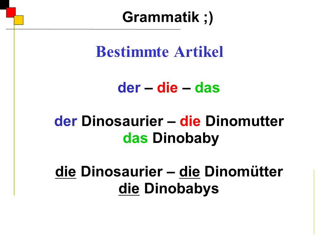 der Dinosaurier – die Dinomutter die Dinosaurier – die Dinomütter