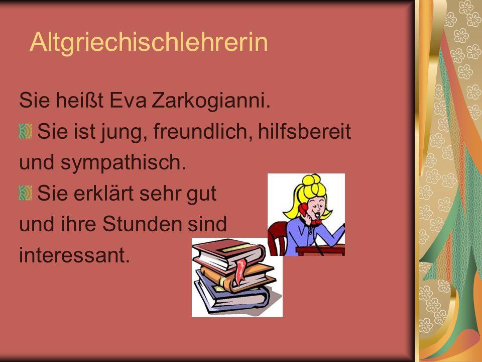 Altgriechischlehrerin