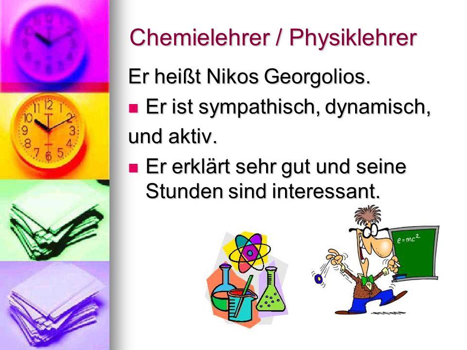 Chemielehrer / Physiklehrer