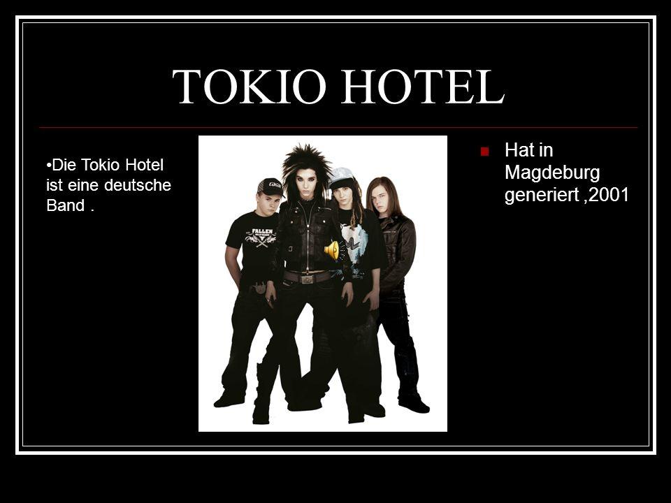 TOKIO HOTEL Hat in Magdeburg generiert ,2001