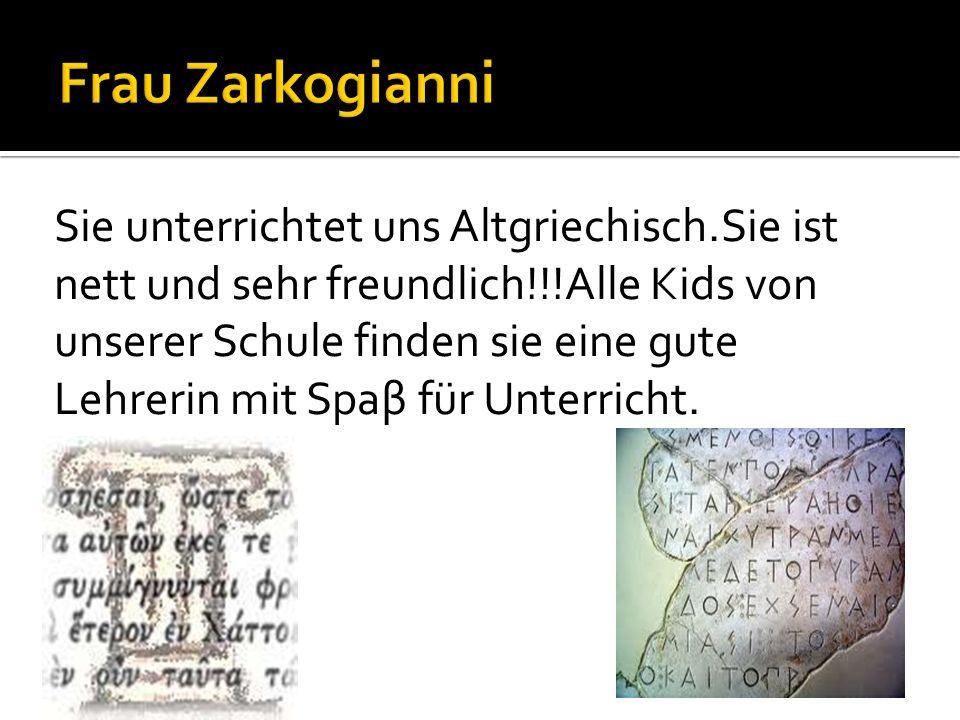 Frau Zarkogianni