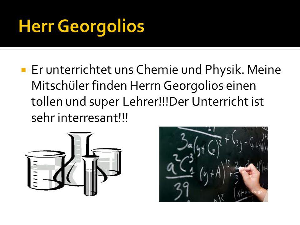 Herr Georgolios