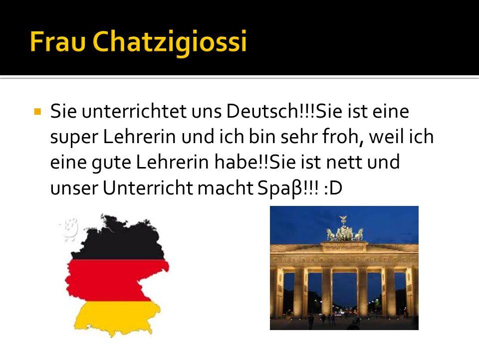 Frau Chatzigiossi