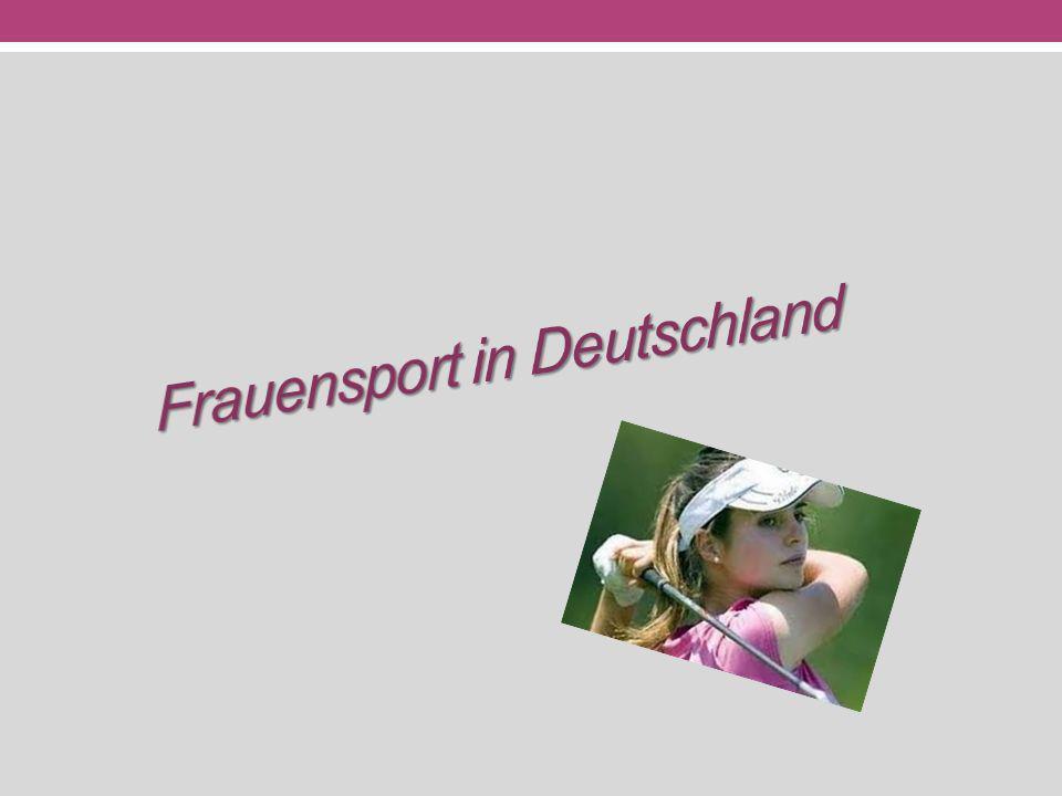 Frauensport in Deutschland