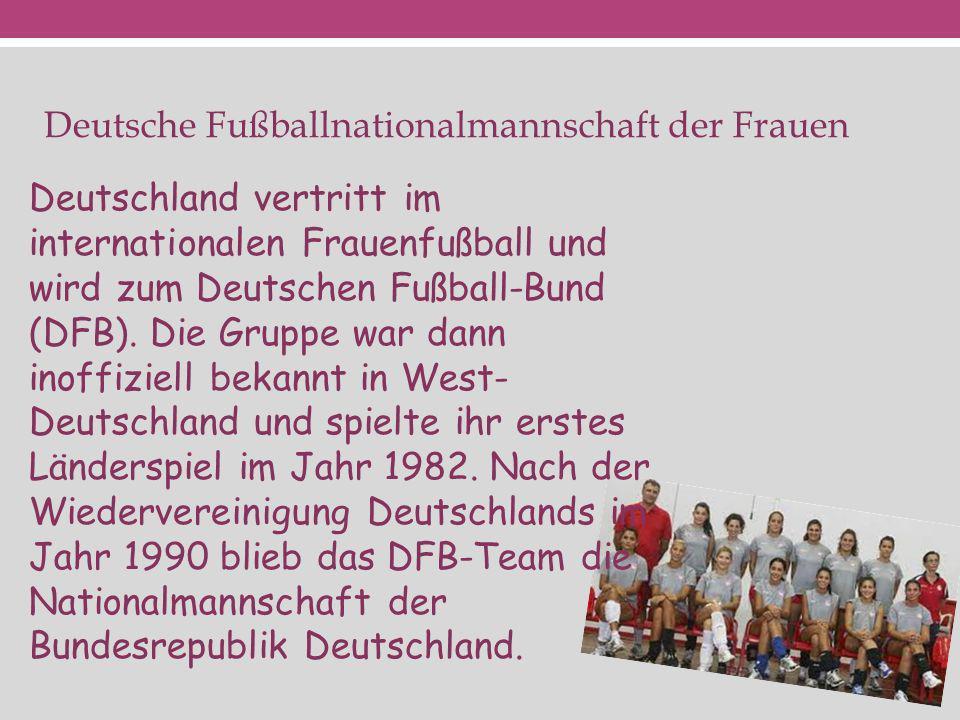 Deutsche Fußballnationalmannschaft der Frauen