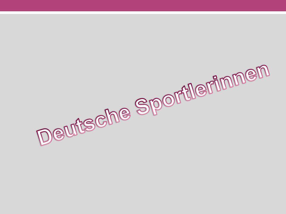 Deutsche Sportlerinnen