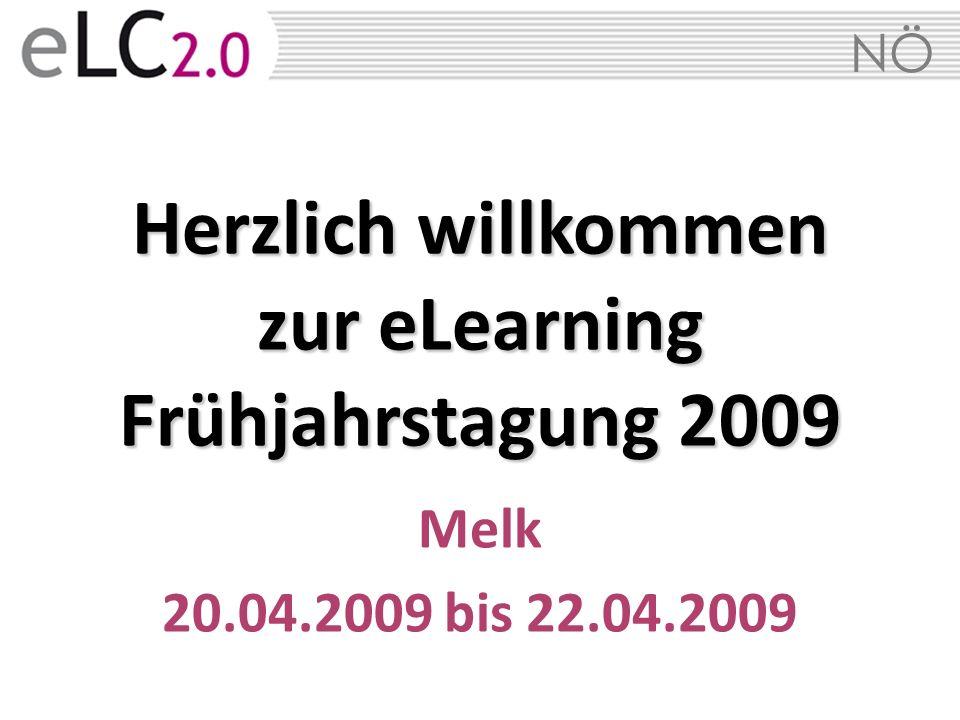 Herzlich willkommen zur eLearning Frühjahrstagung 2009