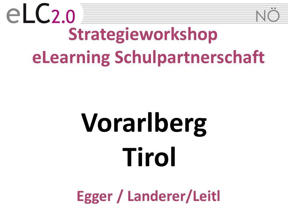 Strategieworkshop eLearning Schulpartnerschaft