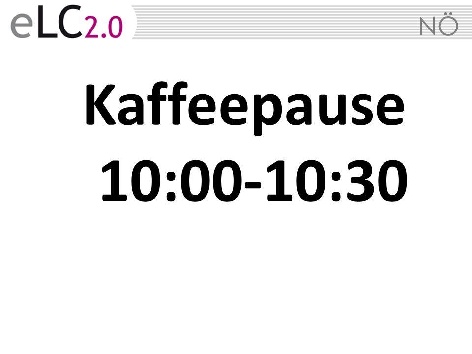 Kaffeepause 10:00-10:30