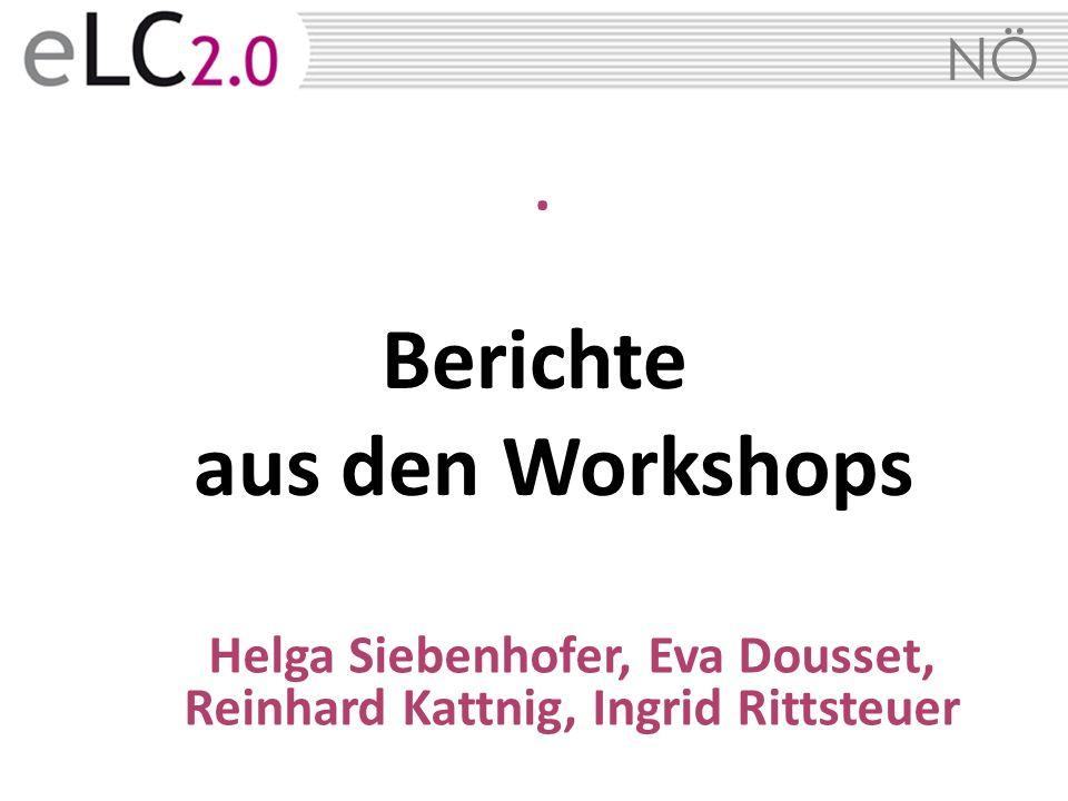 Berichte aus den Workshops