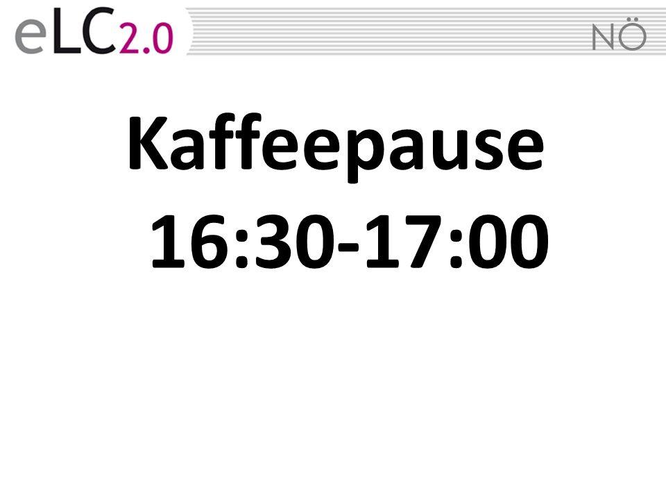 Kaffeepause 16:30-17:00