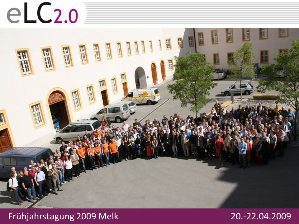 Frühjahrstagung 2009 Melk 20.-22.04.2009