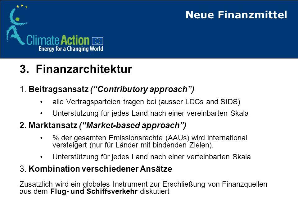 3. Finanzarchitektur Neue Finanzmittel