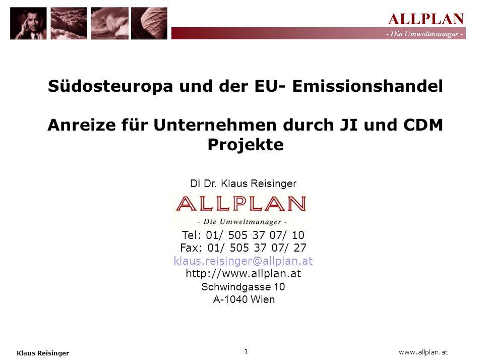 Südosteuropa und der EU- Emissionshandel
