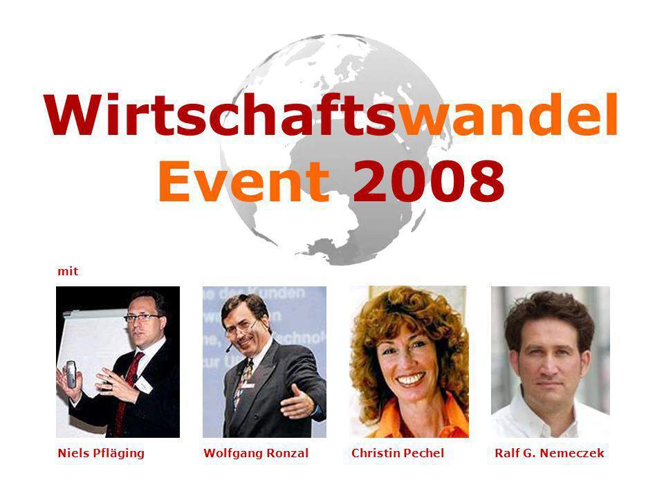 Wirtschaftswandel Event 2008