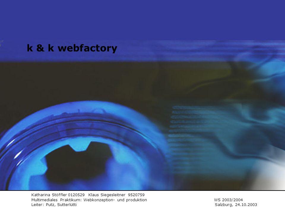 K&K webfactory k & k webfactory