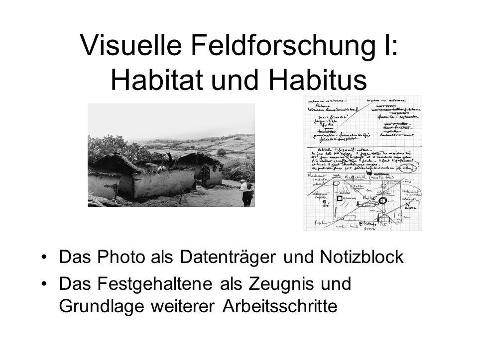 Visuelle Feldforschung I: Habitat und Habitus