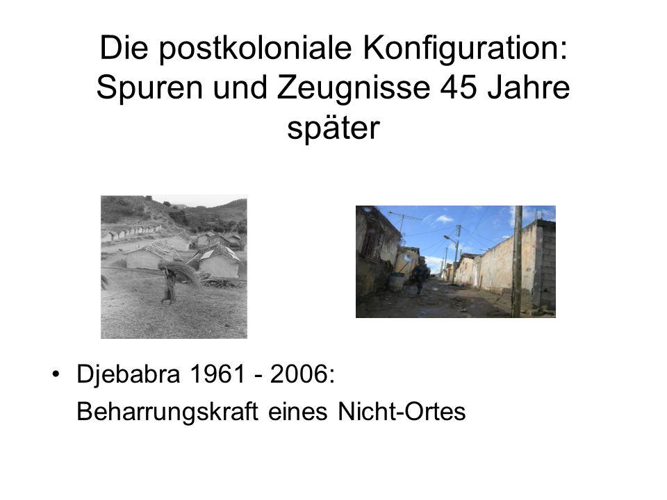 Die postkoloniale Konfiguration: Spuren und Zeugnisse 45 Jahre später
