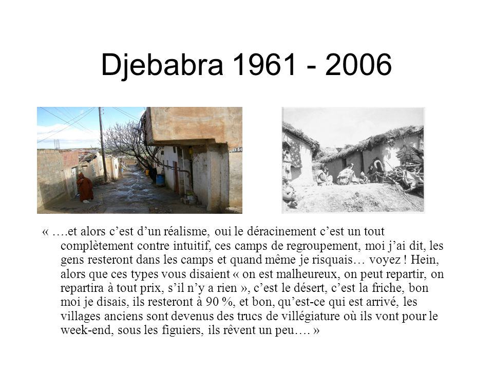 Djebabra 1961 - 2006