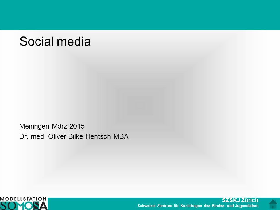 Social media Meiringen März 2015 Dr. med. Oliver Bilke-Hentsch MBA
