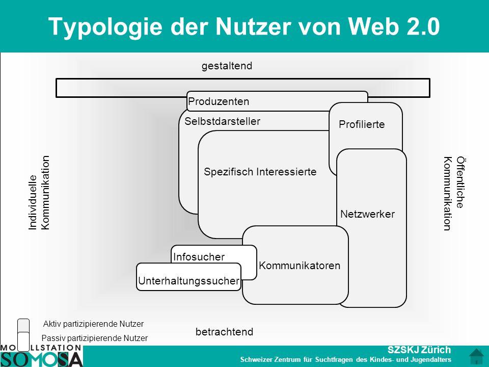 Typologie der Nutzer von Web 2.0