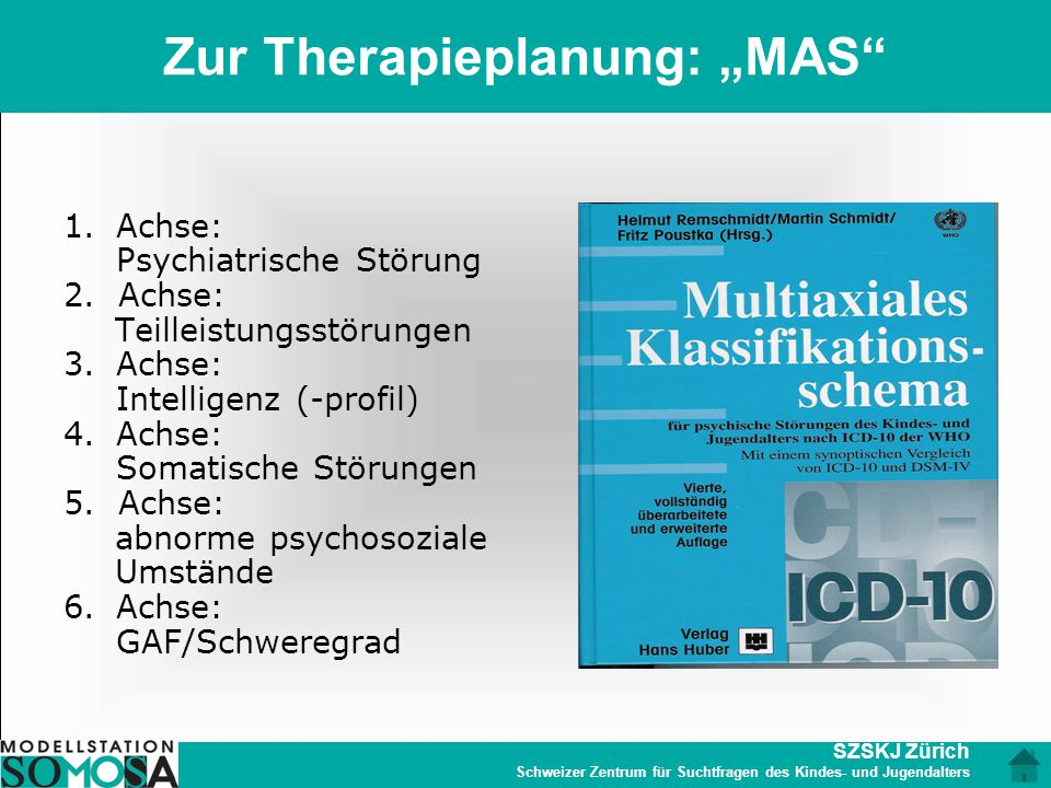 "Zur Therapieplanung: ""MAS"