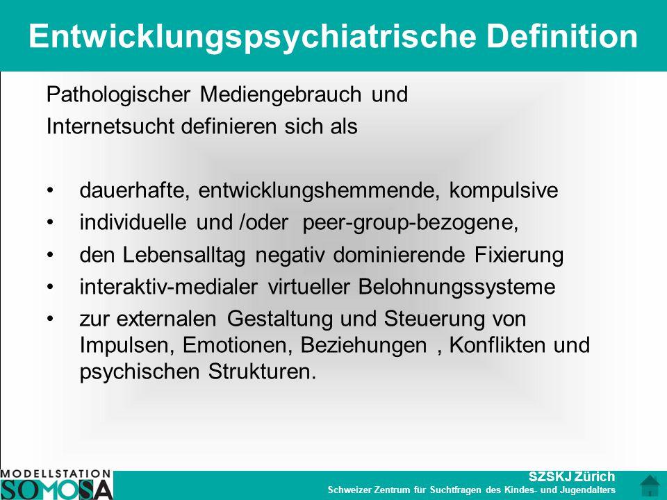 Entwicklungspsychiatrische Definition
