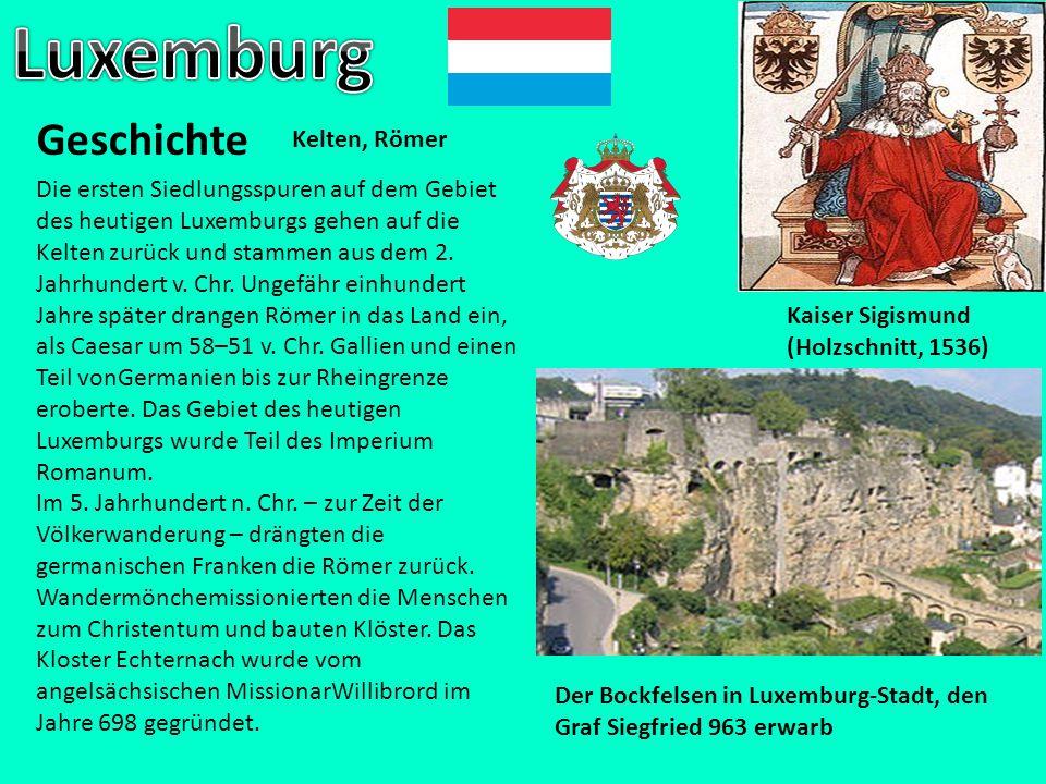 Luxemburg Geschichte Kelten, Römer