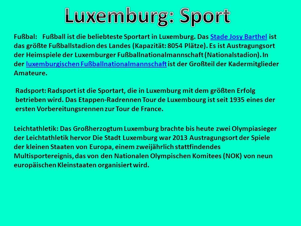 Luxemburg: Sport