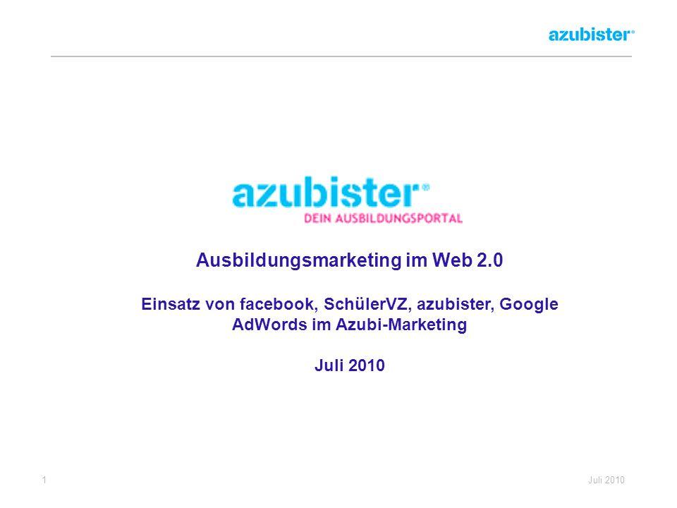Ausbildungsmarketing im Web 2.0