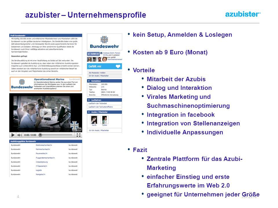 azubister – Unternehmensprofile