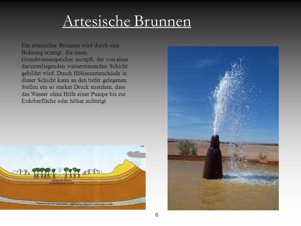 Artesische Brunnen